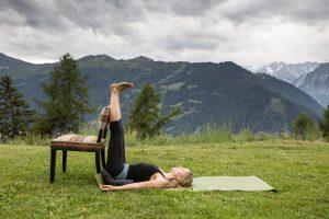 8 Inverted Lake posture (Open Hands)